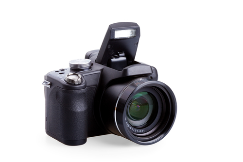 A compact system camera