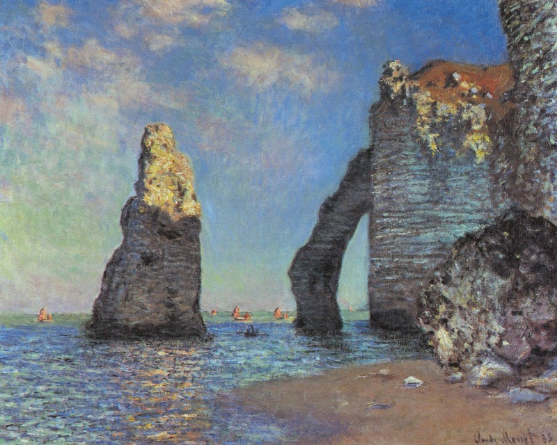 Claude Monet Natural Form Painting