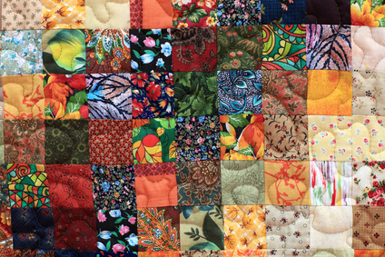 A home made patchwork project