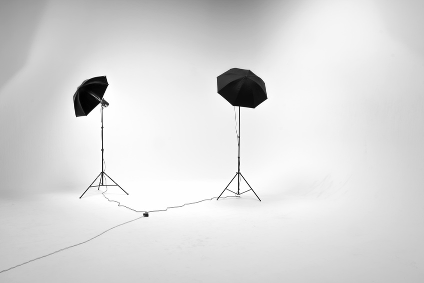 A lighting set up for photography