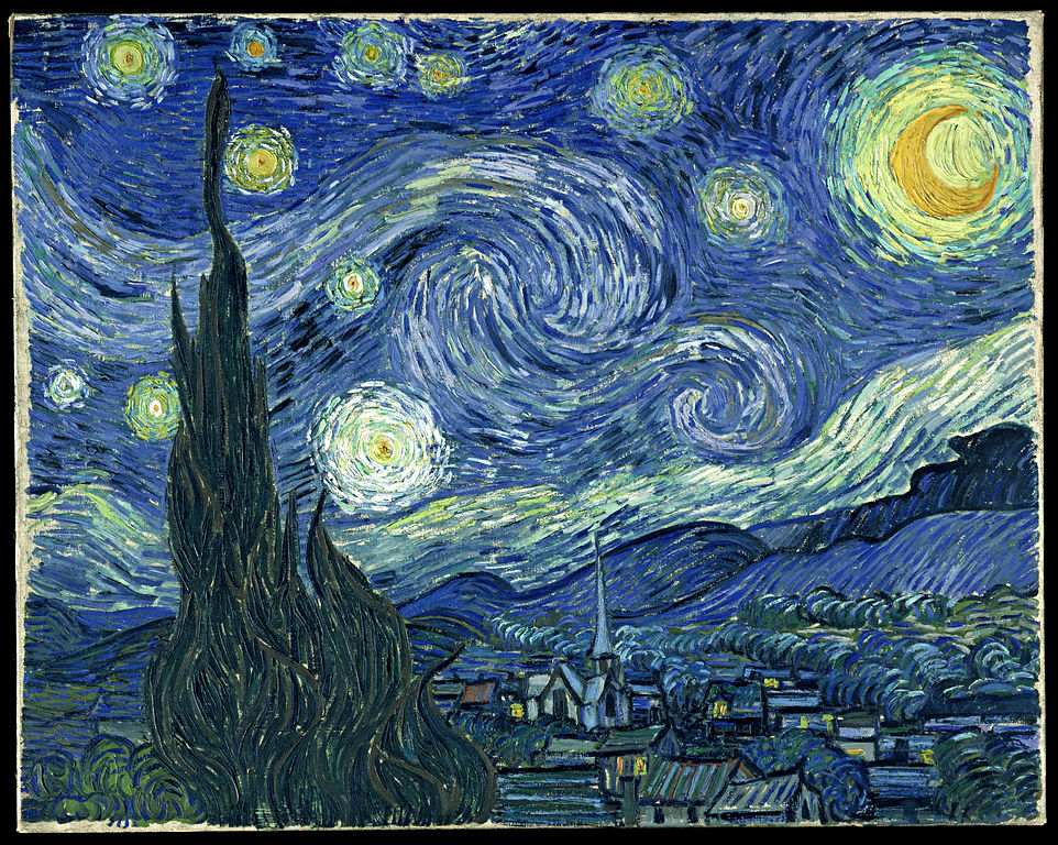 Starry Night by Van Gough