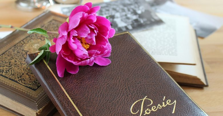 A leather notepad for writing poetry