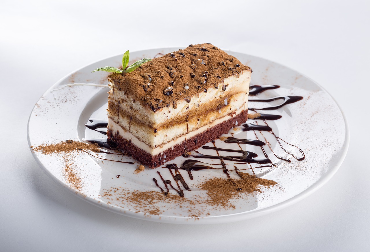A packshot image of cake