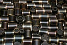 Rolls of polyester film